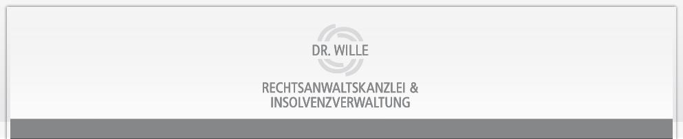 Rechtsanwalt DR. Wille